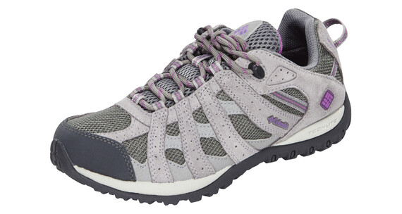 Columbia Redmond Shoes Women WP charcoal / razzle
